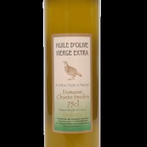 Huile olive vierge extra cuvée Quatourze, domaine chante perdrix