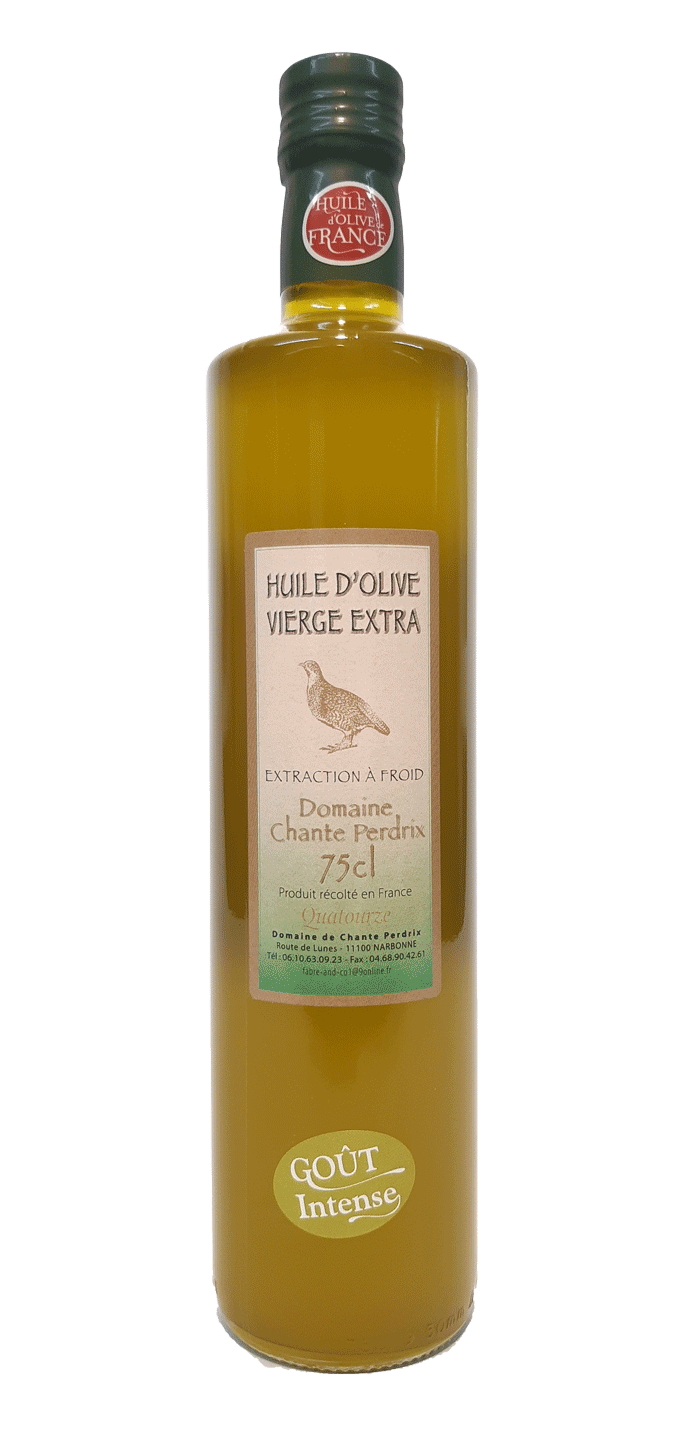 Huile d'olive Domaine chante perdrix Narbonne