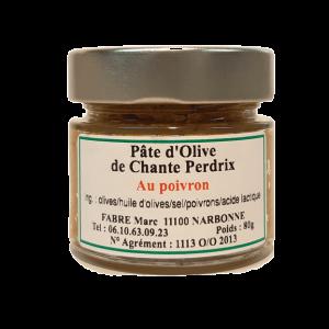 pâte olive poivron domaine chante perdrix
